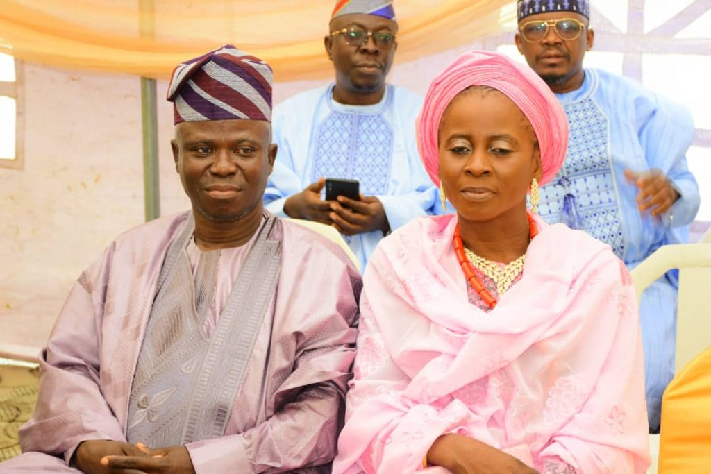 Publisher of SINL Nigeria Online news gives daughter out in marriage